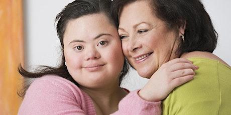 Grupo para Padres de Adultos Jóvenes con Discapacidades de Desarrollo boletos