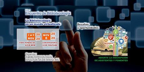 ISFDyT 28 - Encuentro de Bibliotecología 2020. entradas