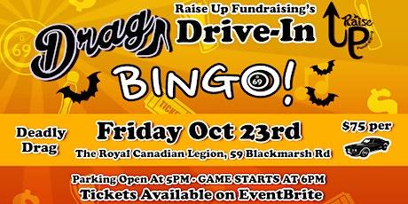 RUF's Drag Drive-In Bingo tickets