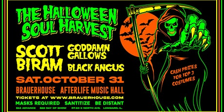 The Halloween Soul Harvest tickets