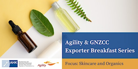 Agility & GNZCC Exporter Breakfast Series | No 3 tickets