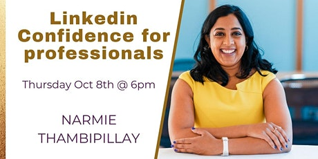 Linkedin Confidence for Professionals tickets