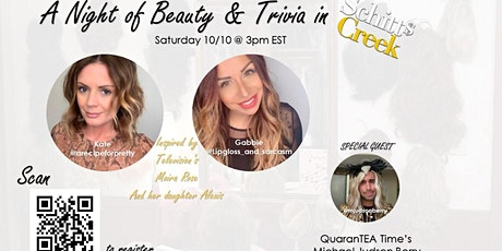 A Night of Beauty and Trivia - Schitts Creek Inspired Virtual Beauty Class tickets