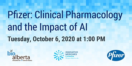 Pfizer: Clinical Pharmacology and the Impact of AI tickets