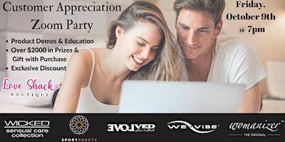 Customer Appreciation Zoom Party