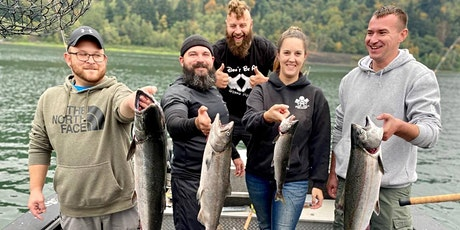 Salmon Fishing Free for Veterans tickets