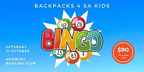 BINGO 4 BACKPACKS tickets