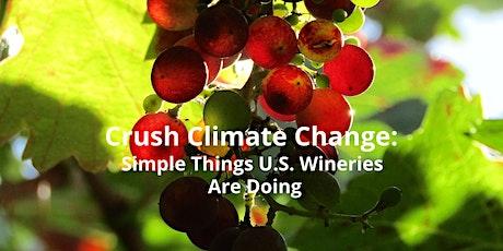 Wine Industry's Climate Declaration Webinar tickets