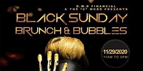 Black Sunday Brunch & Bubbles tickets