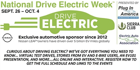 Drive Electric Week SLO tickets