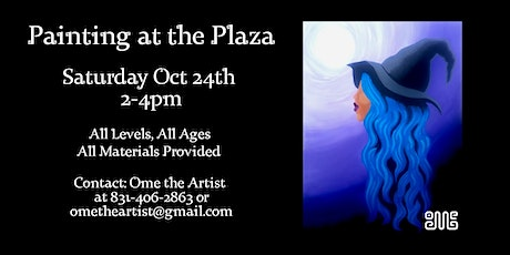 Painting at the Plaza 10/24 tickets