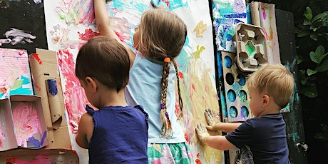 Friday Morning: The Messy Paint and Play tickets