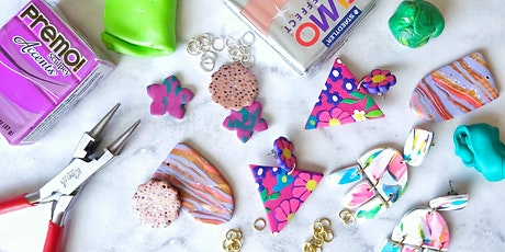 Polymer Clay Earrings tickets