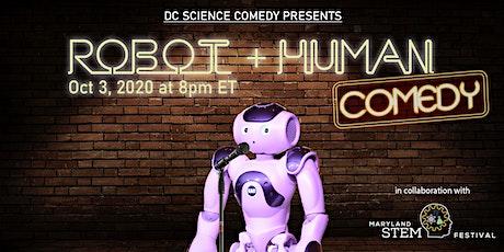 Robot vs. Human Comedy show (Maryland STEM Festival) tickets