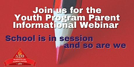 Youth Program Parent Informational Webinar tickets
