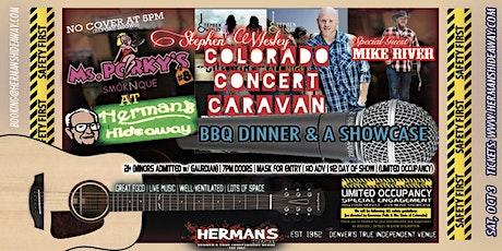 STEPHEN WESLEY - COLORADO CONCERT CARAVAN | w/ MIKE RIVER tickets