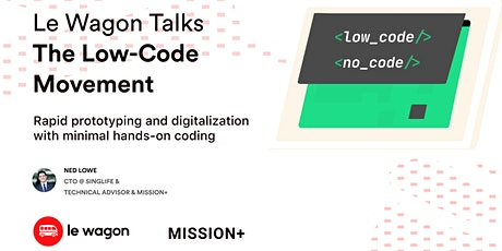 Le Wagon Talks: The Low-Code Movement tickets