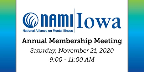 NAMI Iowa's Annual Membership Meeting tickets