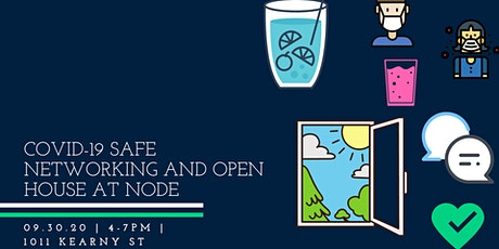 COVID-19 Safe Networking and Open House at Node tickets