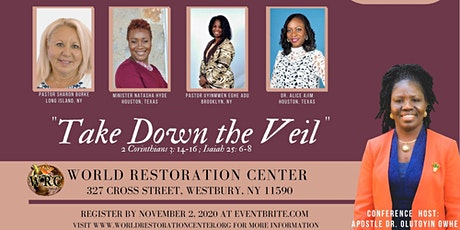 "Virtuous Women of Faith's Virtual Conference:  ""Take Down the Veil"" tickets"