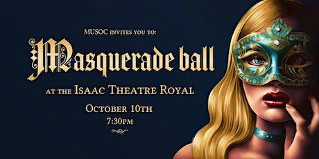 MUSOC - Masquerade Ball 2020 tickets