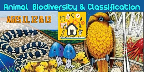 Greater Springfield Home Schoolers Animal Biodiversity Excursion 11-13yrs tickets
