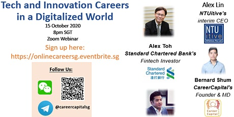 CareerCapital: Tech and Innovation Careers in a Digitalized World tickets