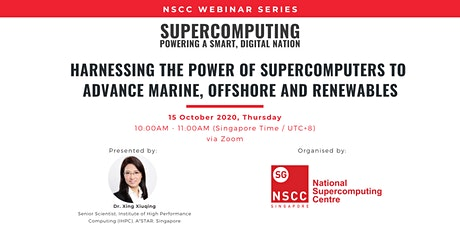 Harnessing Supercomputers to Advance Marine, Offshore and Renewables tickets