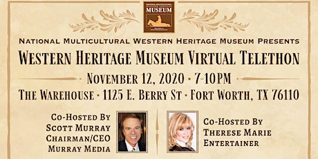 WESTERN  HERITAGE MUSEUM VIRTUAL TELETHON - 11/12/2020 tickets