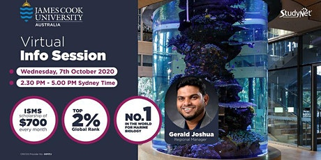 Virtual Information Session with James Cook University tickets