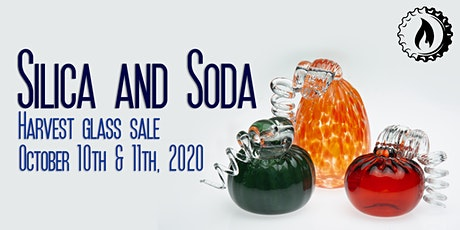 Silica and Soda Harvest Glass Sale tickets