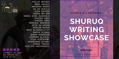 Shuruq 4.5 Presents: Live Reading Series tickets