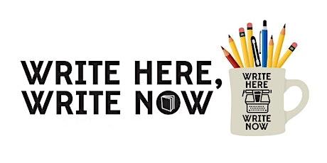 "Write Here, Write Now | Fernanda Santos: ""Writing the Self"" tickets"