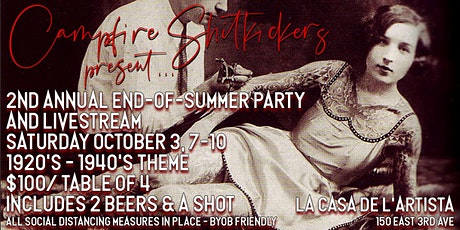 2nd Annual End-Of-Summer Party! tickets