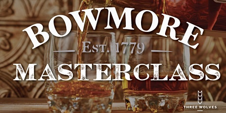 Whisky Masterclass: Bowmore Distillery tickets