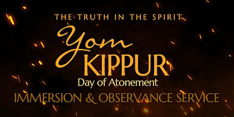Yom Kippur - Water Immersion (Day of Atonement) tickets
