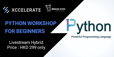 Brain Gym Series: Learn Python in a fun way workshop tickets