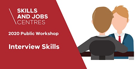 Skills & Jobs Centre | Interview Skills | ONLINE ZOOM WORKSHOP tickets