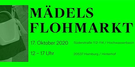 Mädelsflohmarkt das Original - 17.10.2020  in der Süderstraße 112-114/ HH Tickets