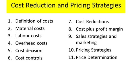 PRODUCT COSTS AND PRICING DECISIONS tickets