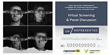 UnRepresented Film Screening & Panel Discussion tickets