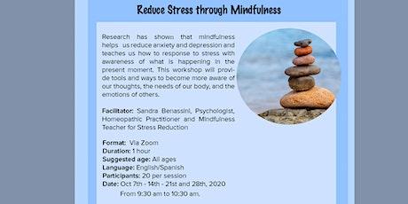 BNH Reduce Stress through Mindfulness (Burnaby, BC) tickets