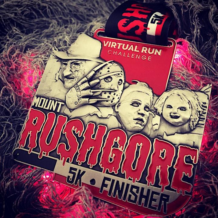 2020 - Mount RushGore Virtual 5k Halloween Run - Santa Clara image