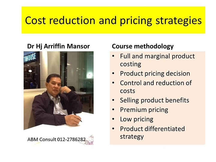 PRODUCT COSTS AND PRICING DECISIONS image