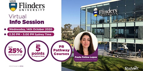 Virtual Information Session with Flinders University tickets