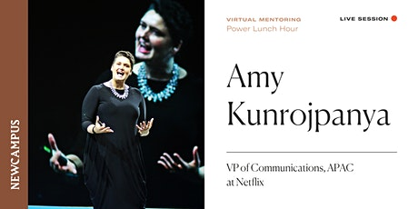 Virtual Mentoring | Power Lunch Hour with Amy Kunrojpanya tickets