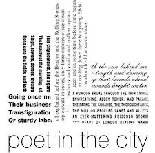 Poet in the City logo