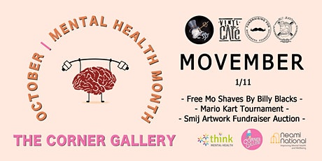 Movember at The Corner Gallery tickets
