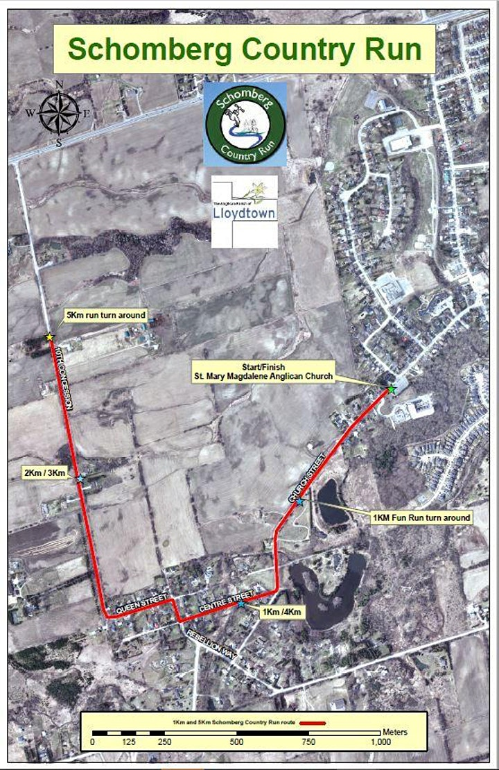 11th Anniversary  Annual Schomberg Country Run image