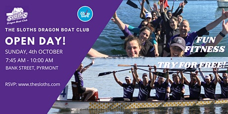 The Sloths Dragon Boat Club Open Day #2 tickets
